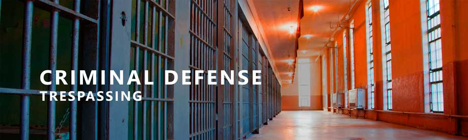 criminal defense lawyer houston trespassing attorney texas